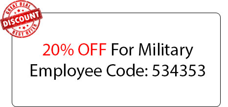 Military Employee 20% OFF - Locksmith at Willowbrook, IL - Willowbrook Il Locksmith